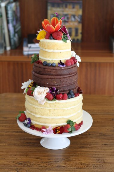 Naked Semi Naked Wedding Cakes Archives Page 3 Of 3 Sweet